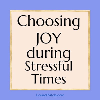 Choosing JOY when you don't feel JOYful | Inspiration