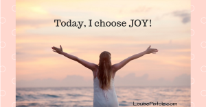 Choosing Joy Every Day