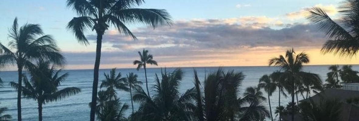 Hawaii sunset J O