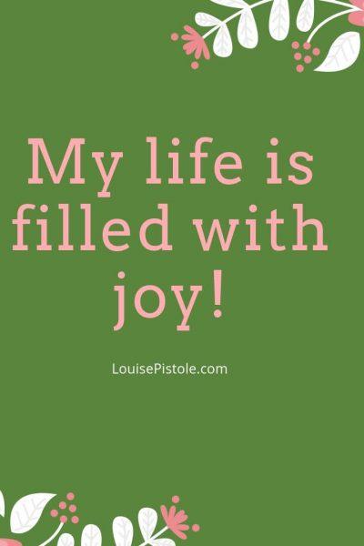 The joy of creative living