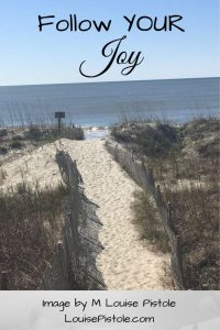 Follow your joy on a coastal path
