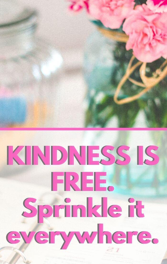 Spread Kindness wherever you go!